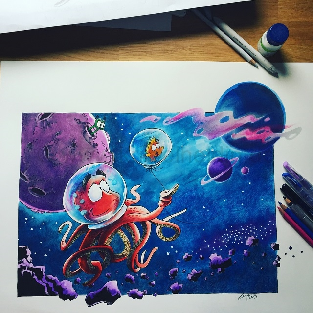 Octonaut and Bubble Final